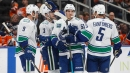 Bo Horvat's two-point night leads Canucks past Oilers