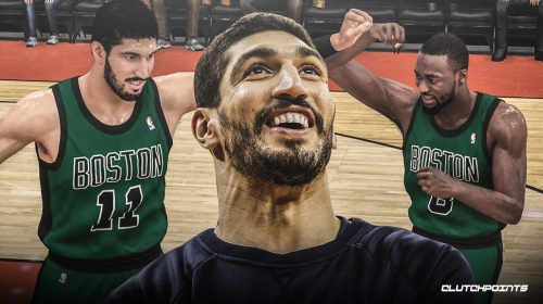 Video: Celtics' Enes Kanter can't believe his horrible dunk rating in NBA 2K20