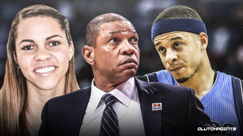 Clippers' Doc Rivers hopes that Mavs' Seth Curry, daughter Callie's son will have 'Curry shot, Rivers athleticism'