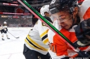 Bruins 3, Flyers 1: Messy, messy, messy