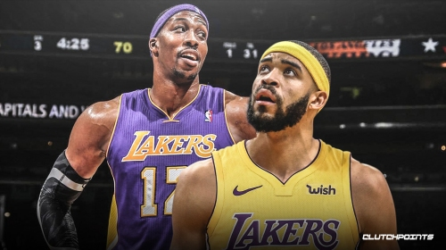 Lakers' JaVale McGee believes 1-2 punch with Dwight Howard will be real trouble for opponents