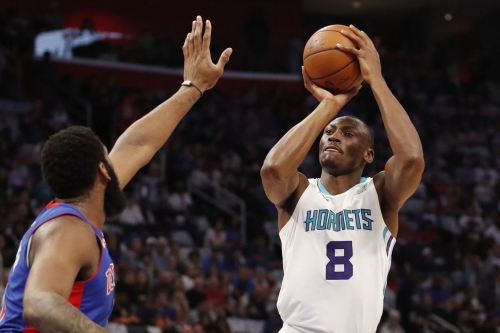 Bismack Biyombo will try to carve out a role in what will likely be his last season in Charlotte