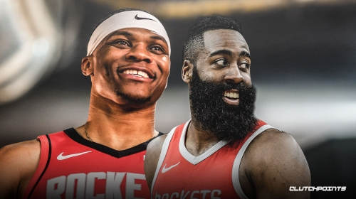 Video: Rockets' James Harden, Russell Westbrook do UFC training with teammates