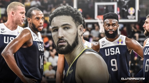 Warriors' Klay Thompson admits it was tough to see Team USA struggle in FIBA World Cup