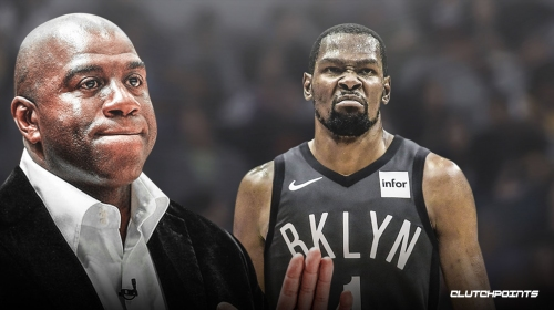 Magic Johnson on Kevin Durant: 'I hope that he finds happiness'
