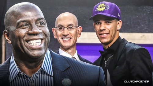 Magic Johnson firmly stands by picking Lonzo Ball No. 2 in 2017
