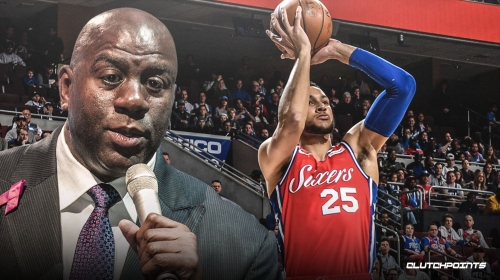Magic Johnson believes Ben Simmons is going to 'shock everybody' with improved jumper