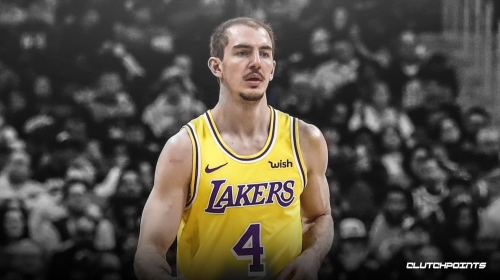 Lakers' Alex Caruso explains why he thinks he has a cult following