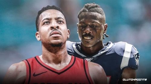 Blazers' CJ McCollum reacts to Patriots releasing Antonio Brown