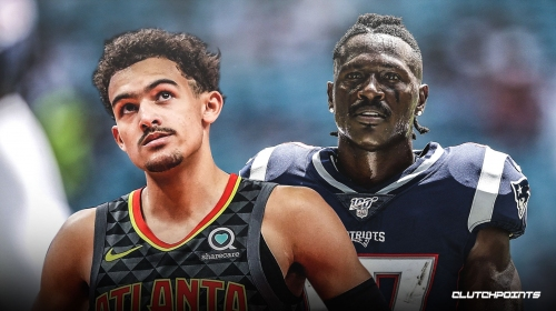Hawks' Trae Young reacts to Antonio Brown getting released by Patriots