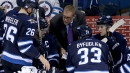 Jets coach Paul Maurice says he met with Dustin Byfuglien