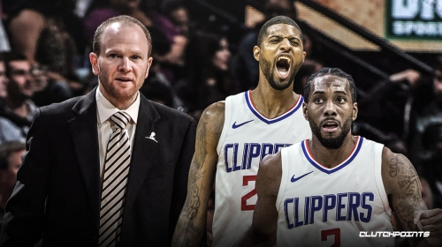 Clippers president Lawrence Frank gives health update on Paul George