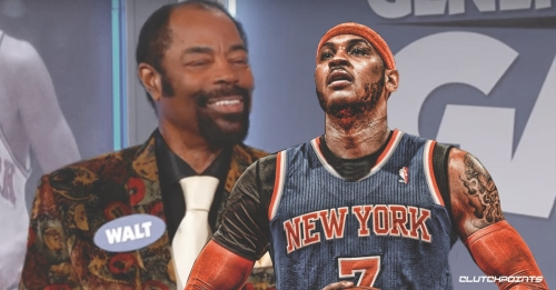 Knicks legend Walt Frazier doesn't like what's happening to Carmelo Anthony