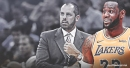 Frank Vogel reacts to storyline about LeBron James playing point guard for Lakers in 2019-20