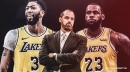 Frank Vogel claims LeBron James 'has had a great summer physically,' can't wait to coach Anthony Davis