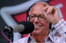 Gallery: Marty Brennaman calls Cincinnati Reds game from the stands on Friday, Sept. 20