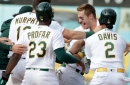 """We have that air of arrogance about us which is needed coming into playoff time"": Some A's players break down team's chemistry as postseason looms"