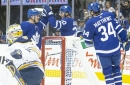 Maple Leafs break the ice with first pre-season win on a big night for the Matthews line