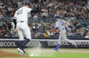 New York Yankees fall to Toronto Blue Jays at Yankee Stadium