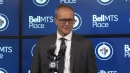 Paul Maurice on Ehlers 'not trying to give the puck to Laine'