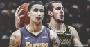 Kyle Kuzma hilariously reacts to article on Lakers teammate Alex Caruso
