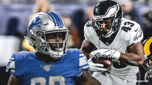 Lions RB Kerryon Johnson praises Darren Sproles' longevity