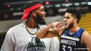 Timberwolves star Karl-Anthony Towns flaunts league's ban of 'ninja-style' headbands