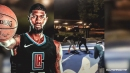 Clippers video: Paul George plays one-on-one with fans in his hometown