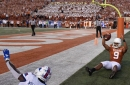 Texas WR Collin Johnson out against Oklahoma State