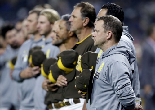 Padres manager Andy Green's firing is 'on the players'