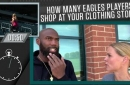 Eagles safety Malcolm Jenkins has defended the greats, but has a surprising pick for hardest player to cover