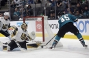 Takeaways: Rookie winger impresses as Sharks lose to Golden Knights