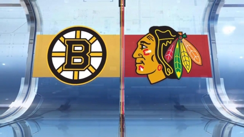 Kane scores off face in overtime as Blackhawks top Bruins