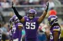 Raiders, Vikings week 3 inactives: LB Anthony Barr a big loss