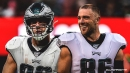 Zach Ertz now second on Eagles' all-time receptions list