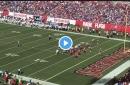 WATCH! Daniel Jones runs for first touchdown