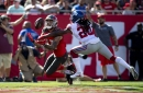 Giants at Buccaneers halftime score: Saquon Barkley injured as Giants fall into 28-10 hole