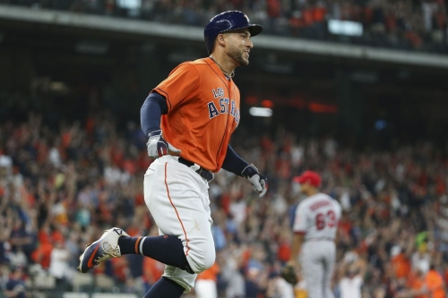 Springer has Sprung: Three Homers from George Power Astros in Division Clincher