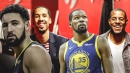 Klay Thompson will miss Kevin Durant, Andre Iguodala, Shaun Livingston, but happy with how Warriors retooled roster