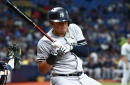 Gio Urshela exits Yankees game with apparent hand injury