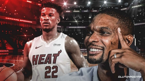 Chris Bosh thinks Jimmy Butler will bring 'healthy tension' to Heat