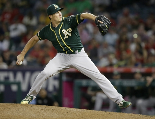 Athletics fall to Angels, lead in A.L. wild-card race is trimmed