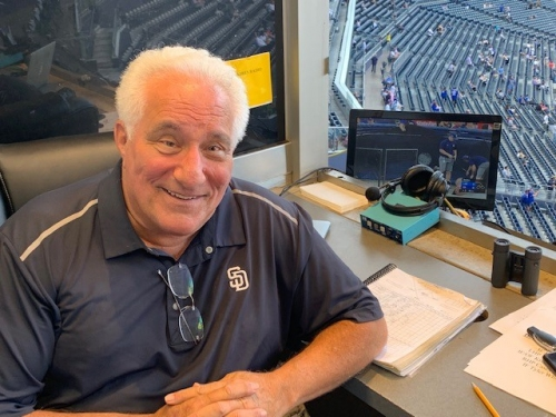Column: Ted Leitner, a Padres constant, to mark 40th season with ceremonial pitch