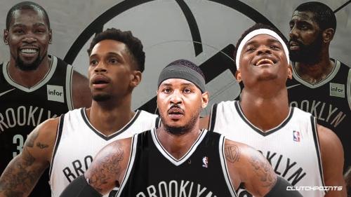 Nets still electing not to sign Carmelo Anthony, instead sign C.J. Williams, John Egbunu