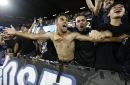 Suspended San Jose Earthquakes Chris Wondolowski spends game with fans