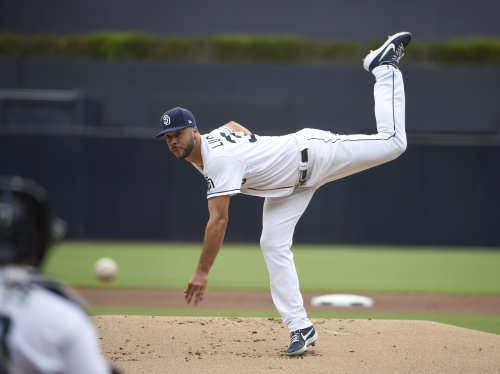 Lucchesi sharp but Padres blanked in home finale vs. Dodgers