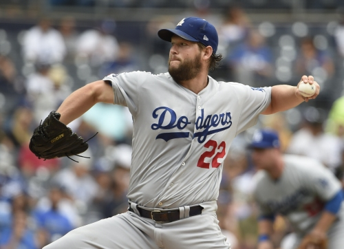 Clayton Kershaw and the Dodgers' bullpen sharp in brisk shutout over the Padres