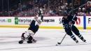 Pionk's open-ice hit sends Nygard head over heels