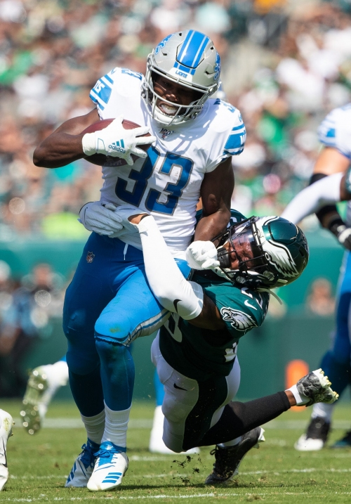 Detroit Lions' Kerryon Johnson has a message for fantasy owners: Sure, bench me