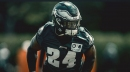 Eagles RB Jordan Howard credits O-line for big game vs. Packers